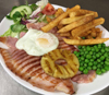 Shambles gammon and Chips