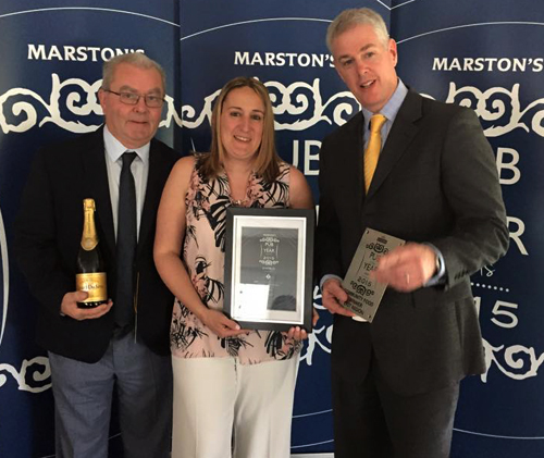 Marstons Pub of the Year 2015